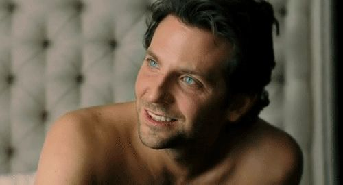 How does this GIF of Bradley Cooper topless and sweetly smiling make you feel? | Can You Make It Through This Post Without Drooling?