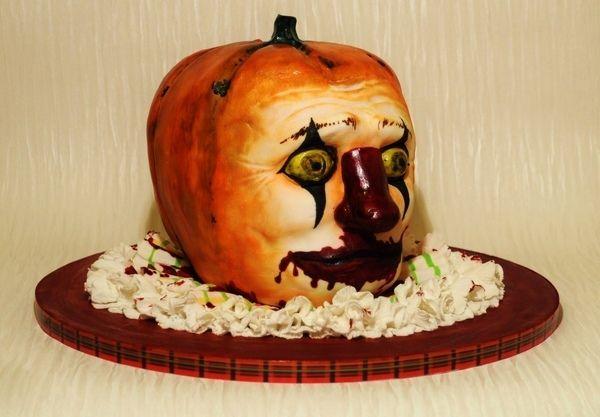 scary halloween cakes ideas clown face halloween cake