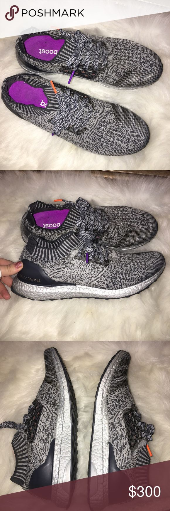 """RARE Adidas Ultra Boost """"Silver Boost"""" Uncaged Perfect condition. NWOT. These shoes dropped 2/15/17 and are a rare edition of the """"silver Boost"""" line of ultra boosts. adidas Shoes Sneakers"""