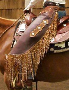 Custom Chinks  Buckskin Lady Leathers,