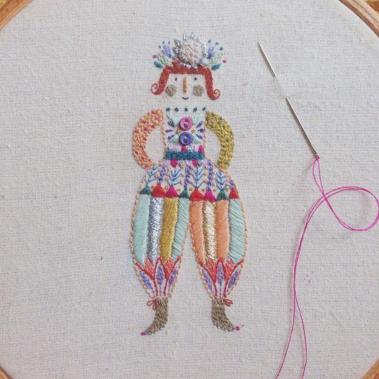 Illustrator, embroiderer and crafter www.facebook.com/megangriffithsillustration...