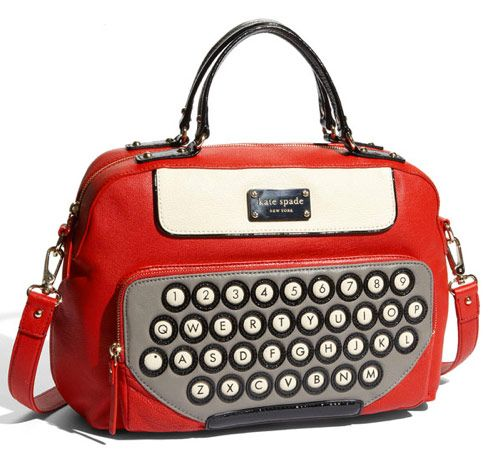 I saw a girl with this bag in an airport, and I still remember it.  It is striking!