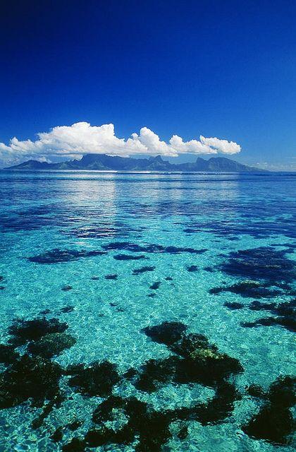 View on Moorea, French Polynesia