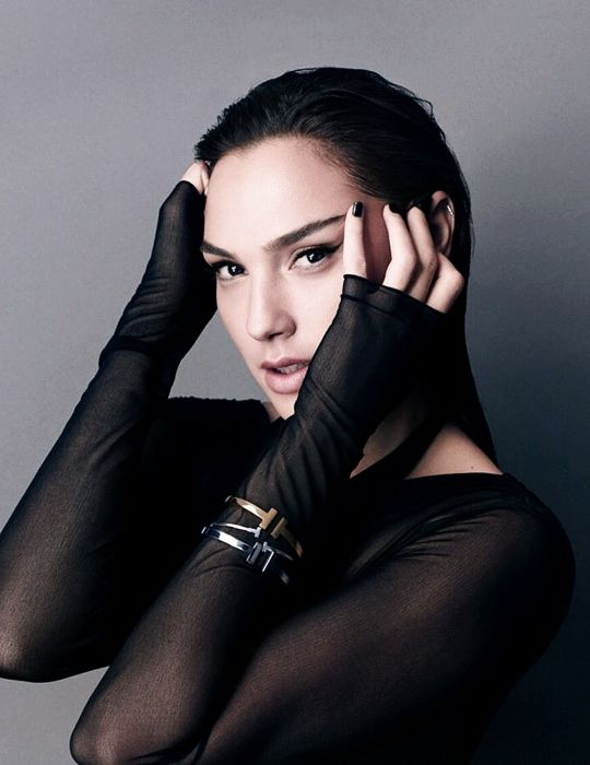 """Gal Gadot: """"All my life, I've been working with male directors, which I've really enjoyed. And I'm lucky in that I've worked with men who have a lot of respect for women. But working with a woman..."""