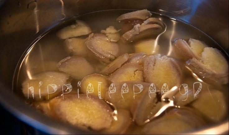 Νερό με Τζίντζερ! – Το πιο υγιεινό ρόφημα που καίει το περιττό λίπος σε μέση, γοφούς και μηρούς!
