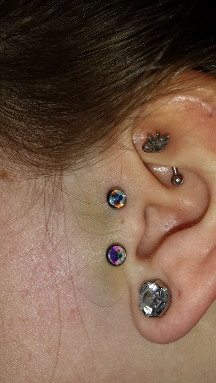 About Four Days After I Had The Vertical Tragus Piercing Doneems To