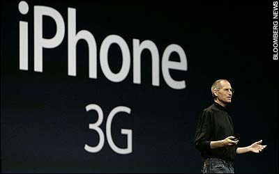 Steve Jobs launches the new iPhone 3G