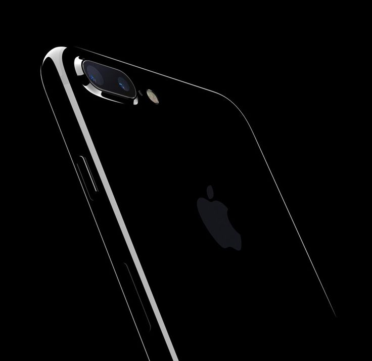 Apple / iPhone 7 Plus / Jet Black / Phone / 2016