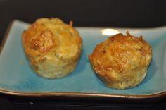 Muffins comté moutarde à l'ancienne et bacon