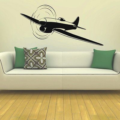 Best Aircraft Wall Decals And Murals Images On Pinterest - Vinyl wall decals airplane