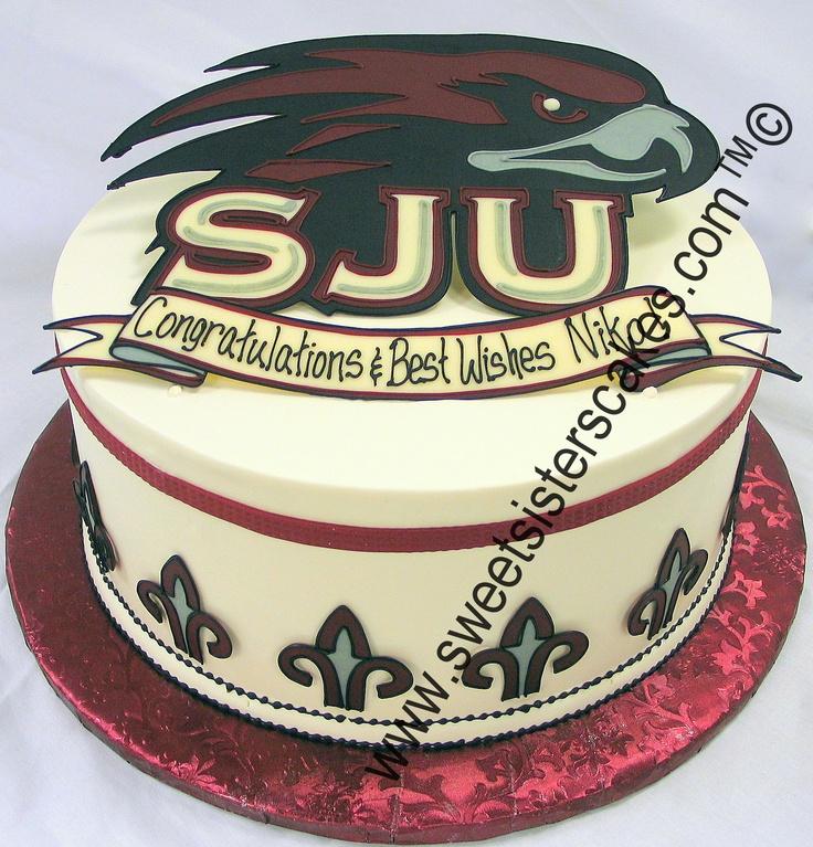 Saint Josephs University Graduation Cake