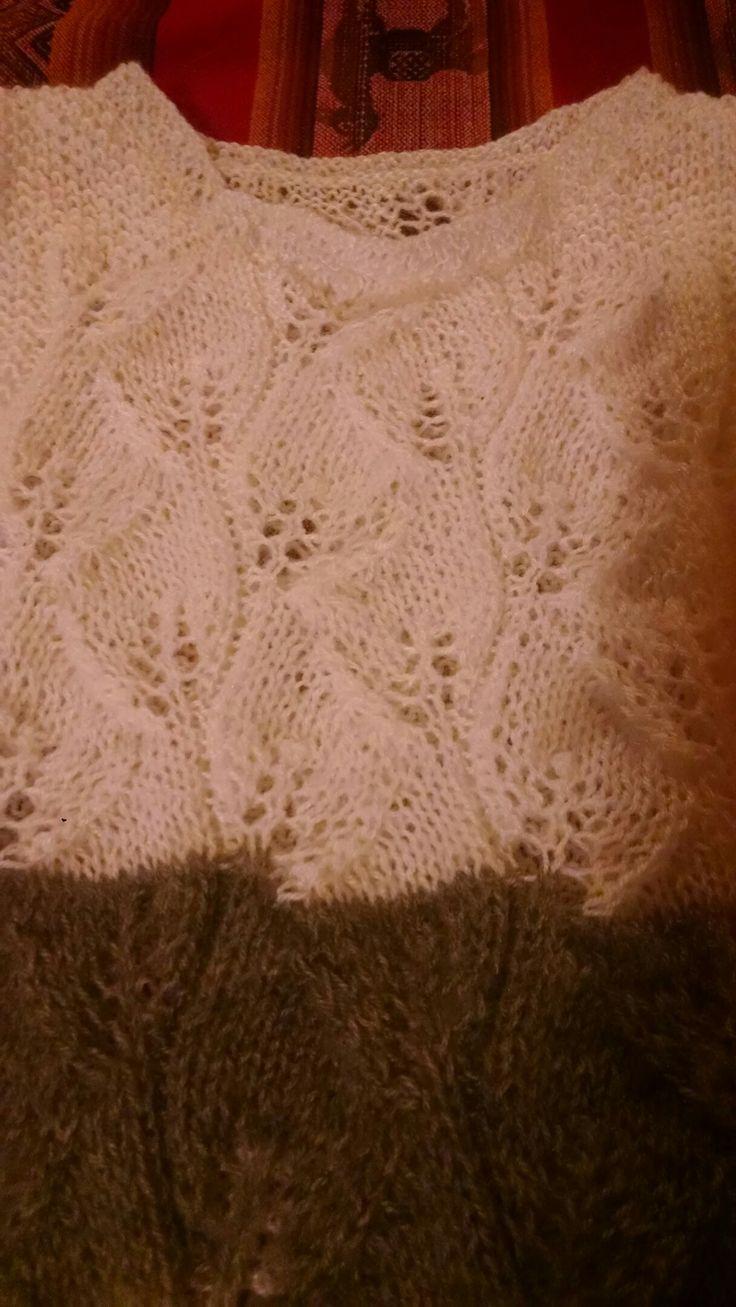 Pullover tricot dama.
