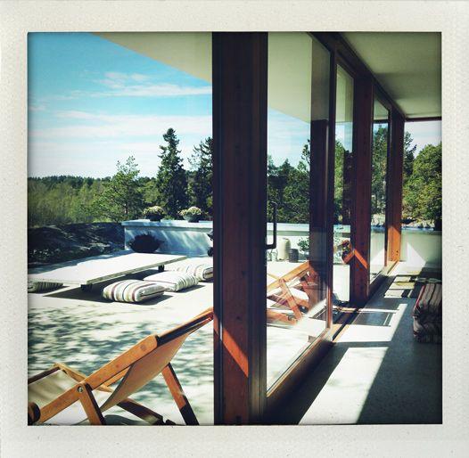 Interior from Villa Weekend in the swedish archipelago (Argark at Vindö)