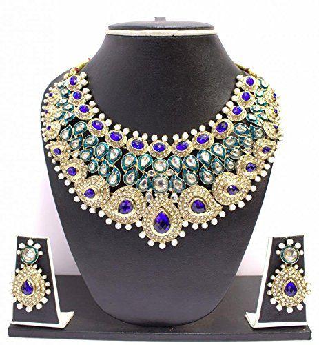 Traditional Bollywood Gold Plated Pearls Elegant Blue Gre... https://www.amazon.com/dp/B01N8TKS17/ref=cm_sw_r_pi_dp_x_Mt2qzbG60QDPV