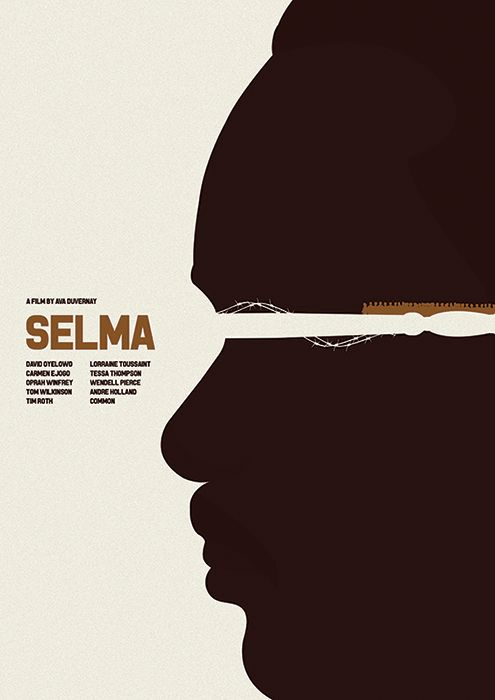 Selma (2014) ~ Minimal Movie Poster By Matt Needle ~ Oscar Bait 2015 Series