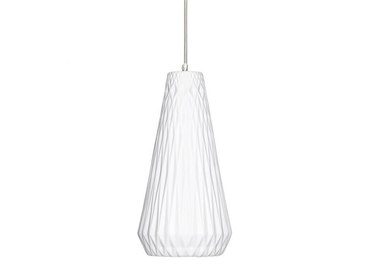 Lampa Wisząca Grooves V — Lampy wiszące Hübsch — sfmeble.pl   #scandinavian  #minimalism  #homedecor