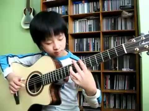 Sungha Jung, seven year old  Hotel California