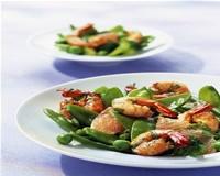 Crevettes grillées marinées