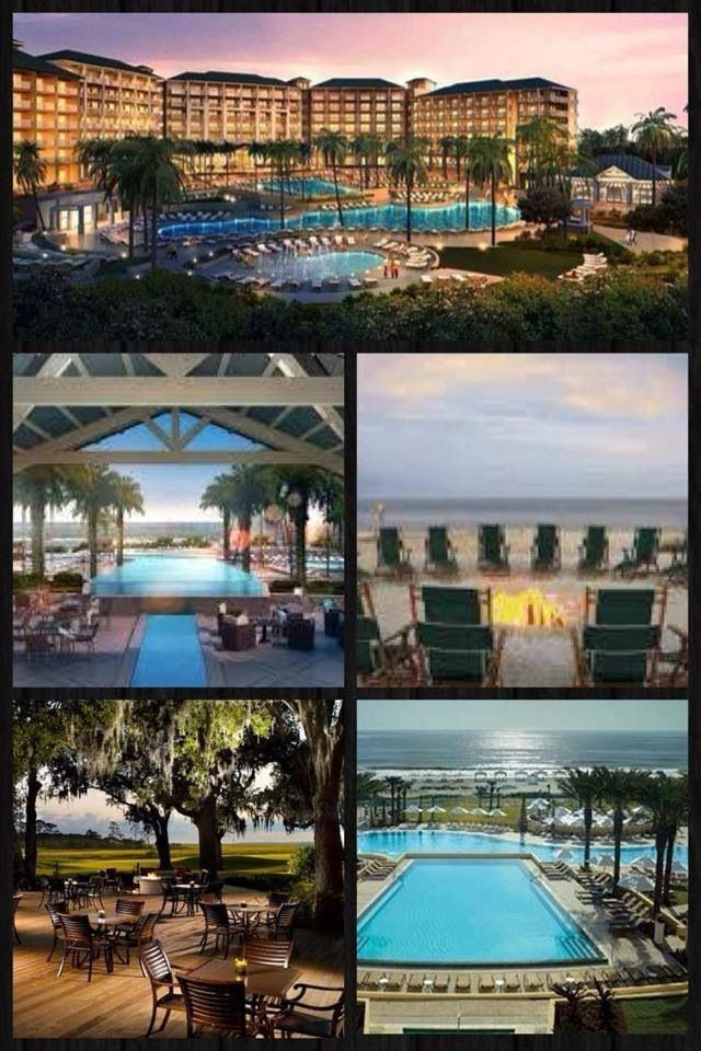 Omni Plantation Resort Amelia Island, Florida. Beautiful pool and beach! Great vacation spot.