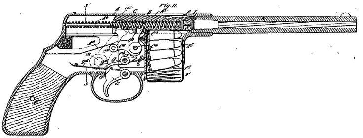 Maxim-Silverman 1896 Type 2 pistol
