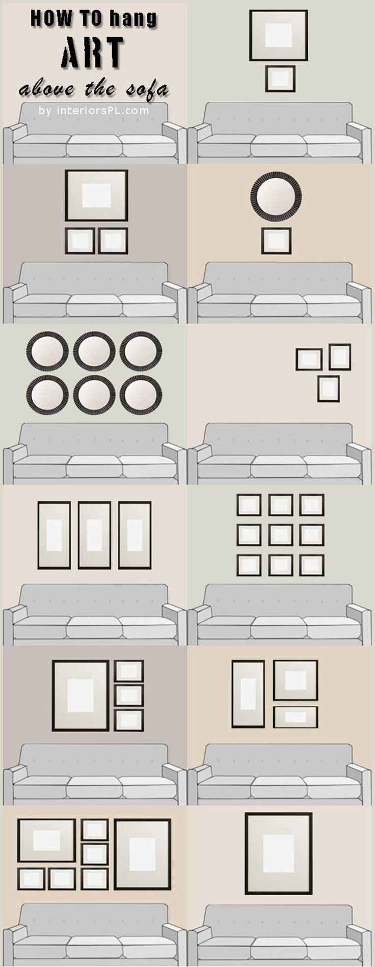 Hanging Wall Art Ideas best 25+ living room artwork ideas only on pinterest | living room