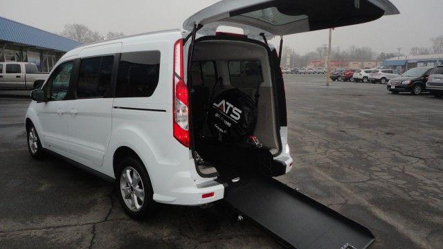 2017 Ford Transit Connect Wagon Titanium Lwb Wheelchair Van