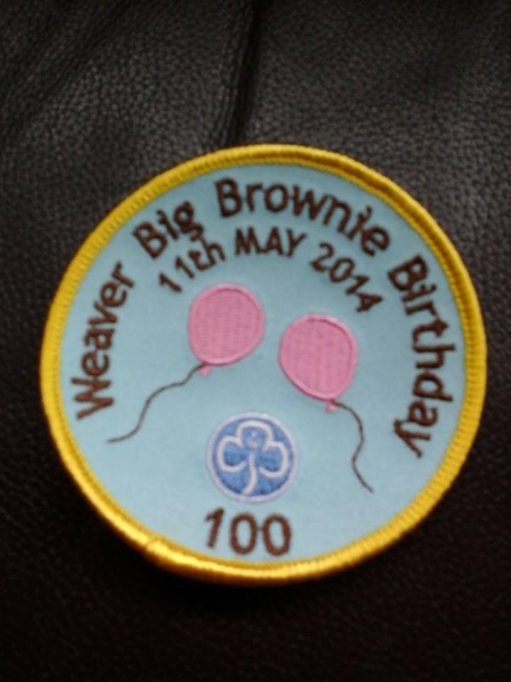 Cathy Consterdine   Big brownie birthday FB £1 each with 60p p&p