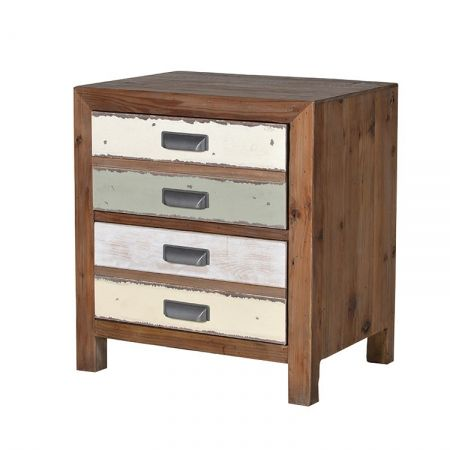 Recycled spruce bedside table   vintage retro bedside table - £237.60 Shop > http://www.exclusiveinteriors.co.uk/bedroom/bedside-tables/recycled-spruce-bedside-chest