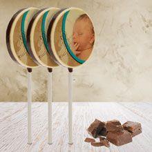 Op zoek naar een lieve en lekkere traktatie? Geef deze vijf heerlijke, ambachtelijk gemaakte chocolade lollies cadeau!