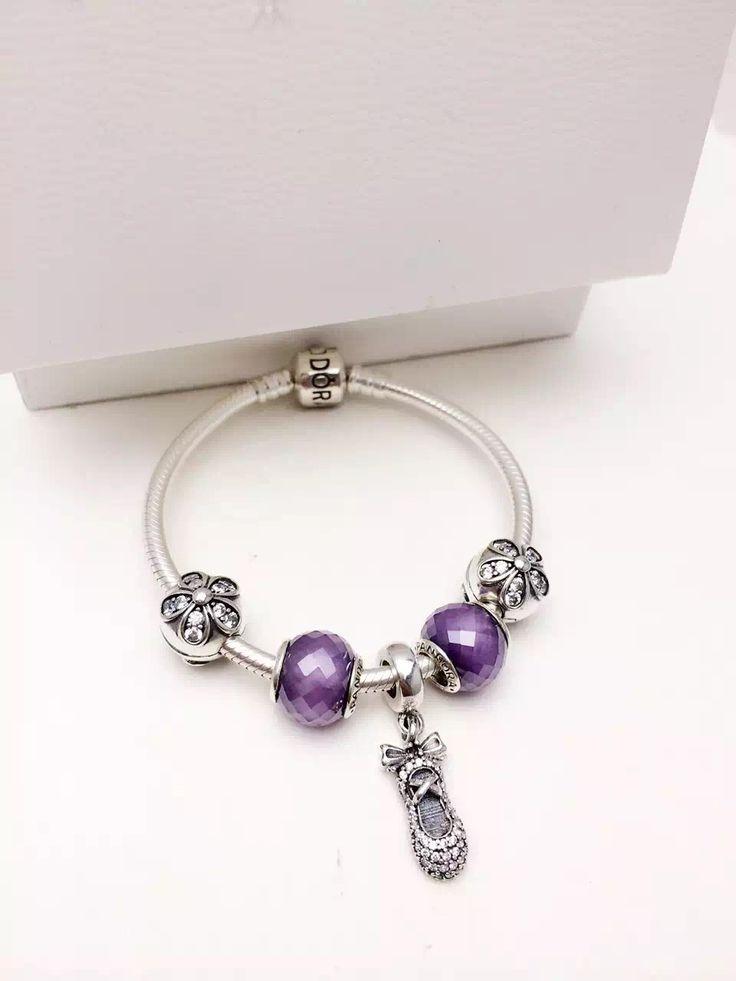 Pandora Sterling Silver Charm Bracelet CB01344