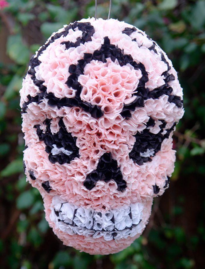 El Piñatero - Sugar Skull Day of the Dead Piñata - Pinata Art- La Muñeca
