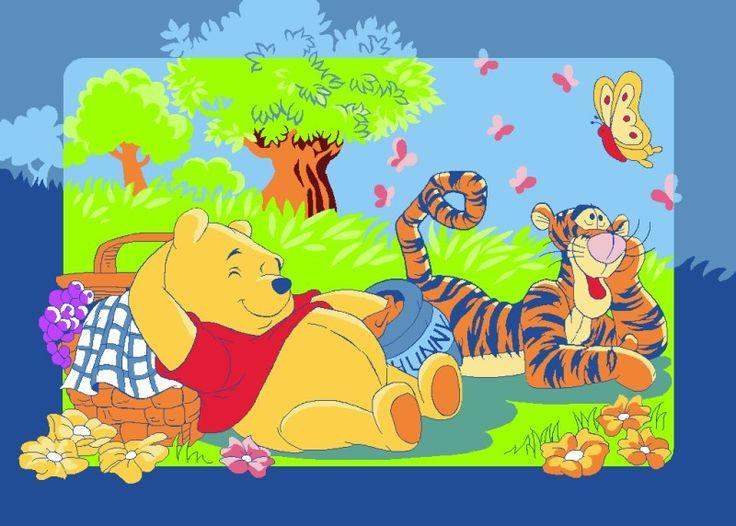 Good Tapis enfants Winnie the Pooh Pique nique x