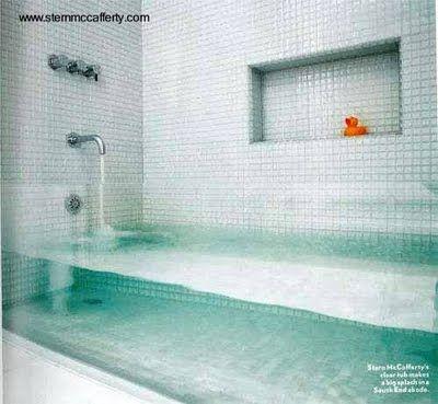 Tina de baño sofisticada