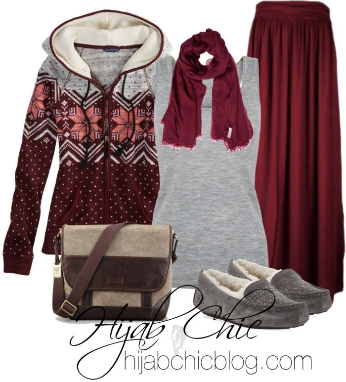 Hijab Outfit: American Eagle Outfitters hoodie