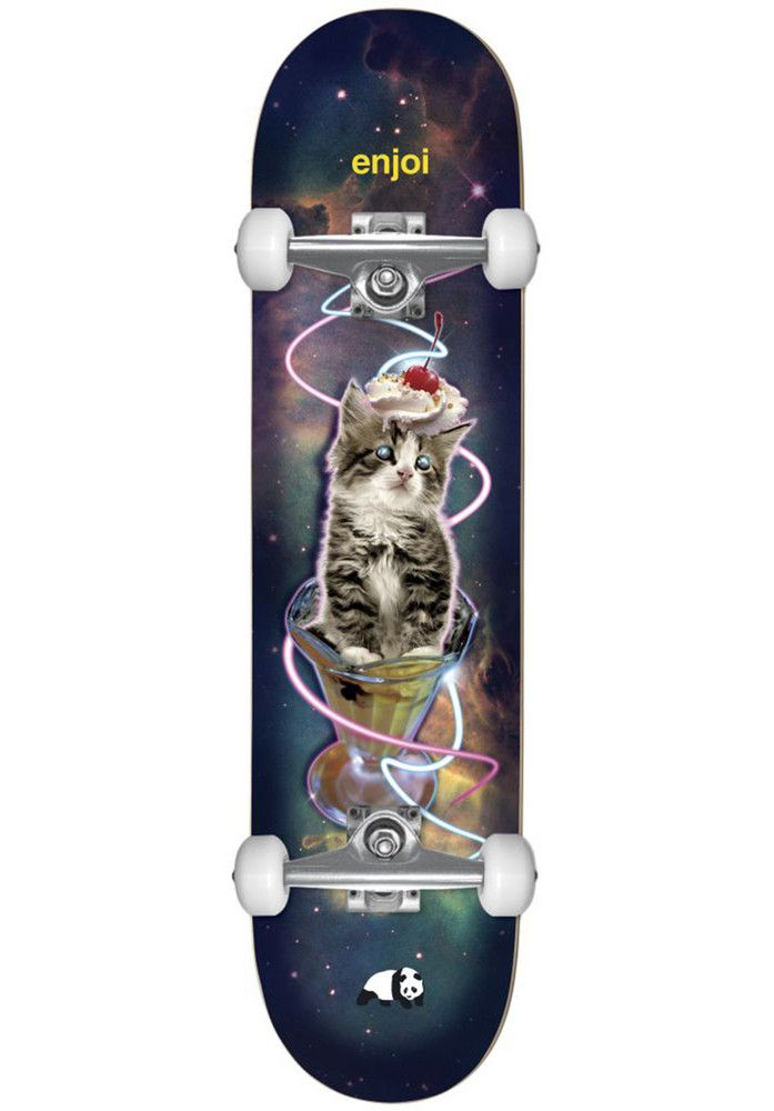 Enjoi Snack-Surfer-Cat-V2 - titus-shop.com  #SkateboardComplete #Skateboard #titus #titusskateshop
