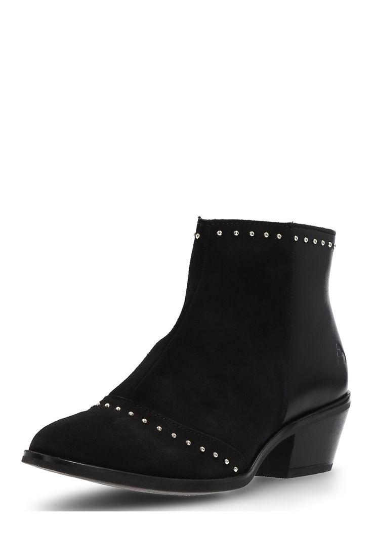 Bullboxer Ankle-Boots, Leder, Absatz 5 cm, schwarz Jetzt bestellen unter: https://mode.ladendirekt.de/damen/schuhe/stiefeletten/ankleboots/?uid=f5f10f18-6244-5ccd-990b-2fd3800ab0ae&utm_source=pinterest&utm_medium=pin&utm_campaign=boards #stiefeletten #ankleboots #schuhe #bekleidung Bild Quelle: brands4friends.de