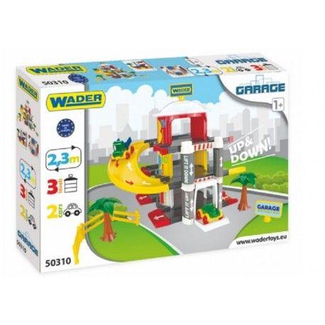 Witajcie, Wader ma dla was nową propozycję:)  Zestaw Wader 50310 - 3 Poziomowy Garaż z Windą dla Dzieci od 1 roku.   Garaż wyposażony jest w drogę o długości 2,3 metra oraz windę, która przewiezie samochodziki na drugi i trzeci poziom.   Co kryje się w zestawie? Sprawdźcie sami:)  http://www.niczchin.pl/wader-garaz-tor-auta/3077-wader-50310-3-poziomowy-garaz-z-winda.html  #wader #garaz #zabawki #niczchin #krakow