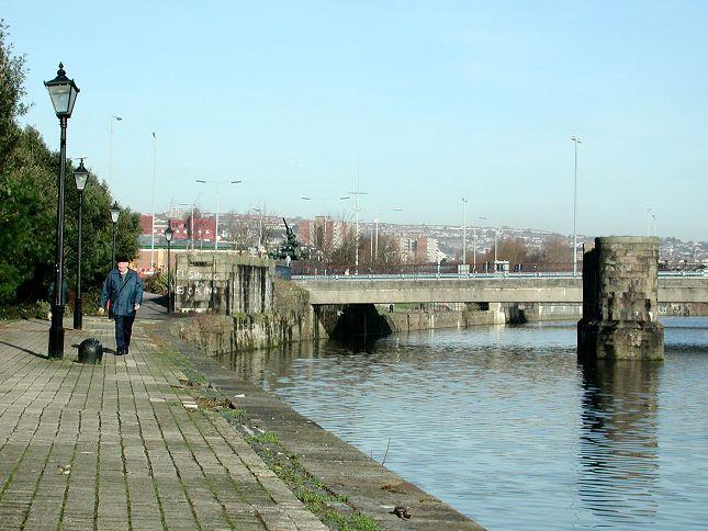 Swansea. River Tawe.
