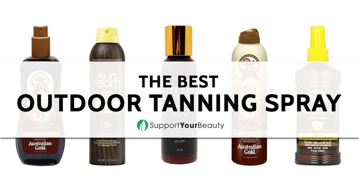 The Best Outdoor Tanning Spray – 2017 Reviews & Top Picks - Check it out here https://supportyourbeauty.com/best-outdoor-tanning-spray/ on Support Your Beauty!  #Tanners #beauty