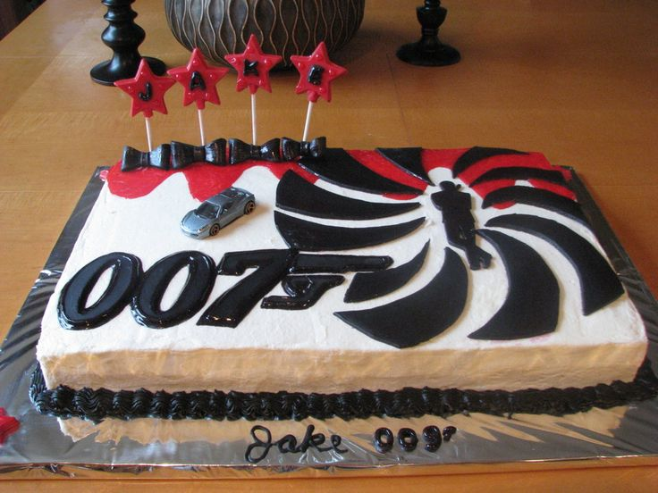 15 best happy birthday images on pinterest birthdays birthday james bond 007 on cake central thecheapjerseys Gallery