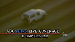 Image result for OJ Simpson high-speed car chase 1994