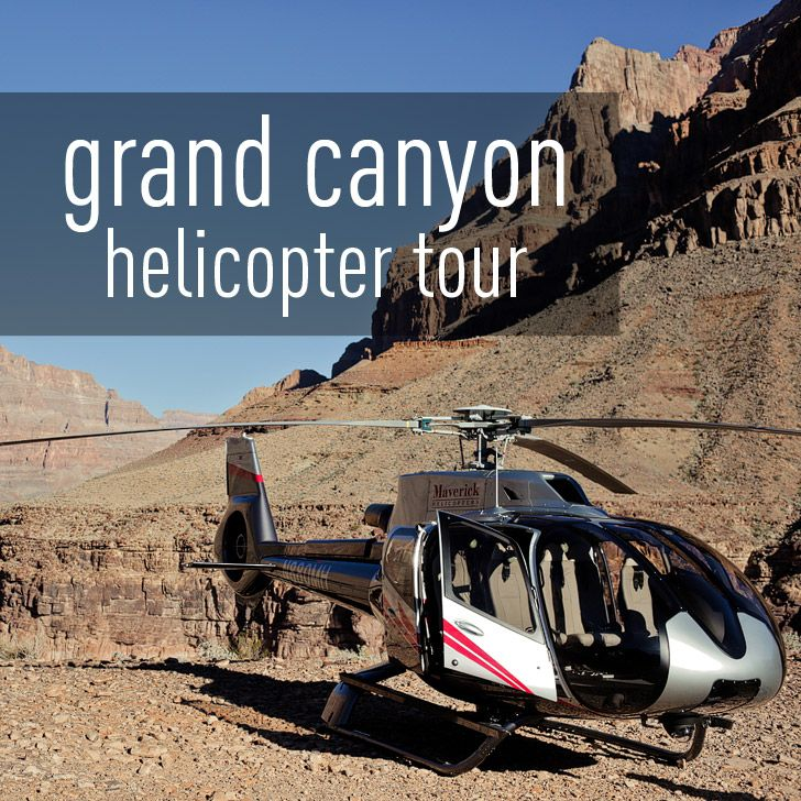 Neither of us have been on a helicopter so we were pumped to do a Las Vegas to Grand Canyon Tour with Maverick Helicopters!