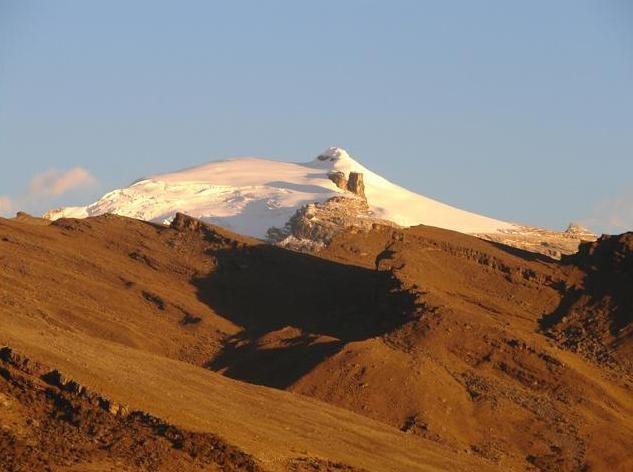 Parque Natural del Cocuy, Andes.