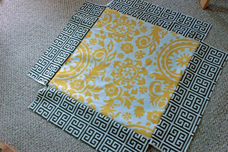 Tutorial for giant floor pillows. Mandy Made: Giant Floor Pillows