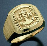 The Classic Navy Chief Petty Officer Ring