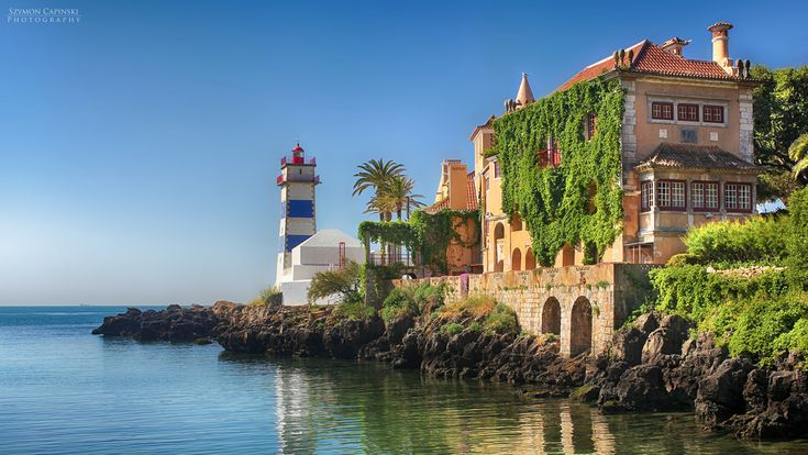 Image result for lighthouse cascais portugal