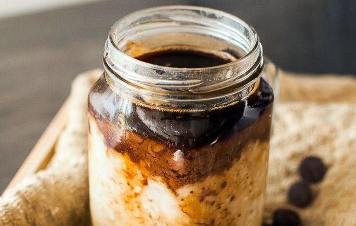 Resep Membuat Cafe Mocha Oats Rasa Istimewa Resep Makanan Overnight Oat Resep Kopi