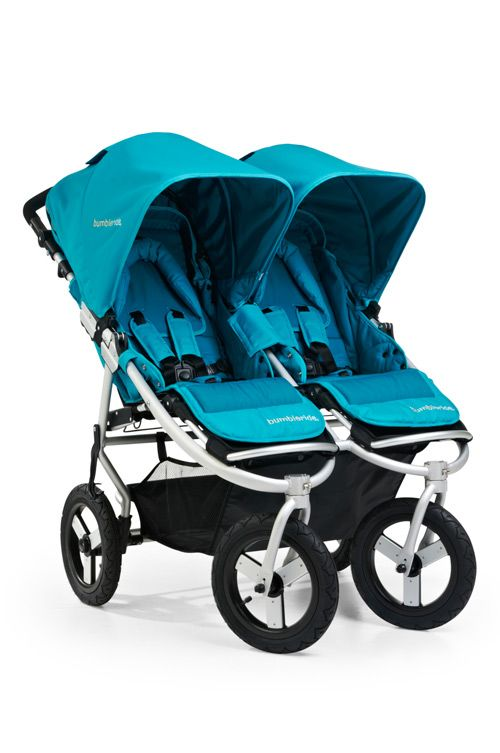 Bumbleride Indie Twin- front runner for my double stroller.Baby Products, Bumbleride Indie, Indie Twin, Baby Swings, Twin Strollers, 2012 Bumbleride, Aqua, Double Strollers, Baby Stuff