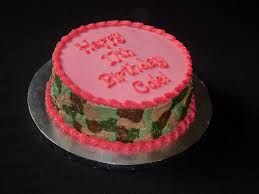 pink camo cake - Google Search