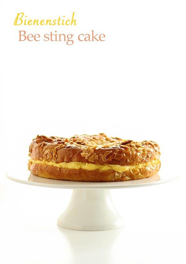 Bee sting cake - Bienenstich